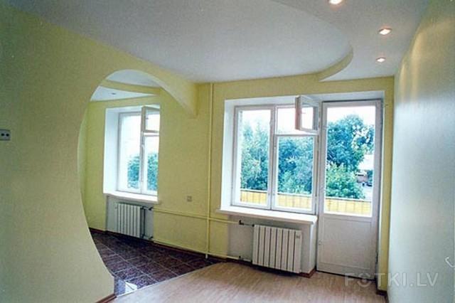 Отделка двухкомнатных квартир фото
